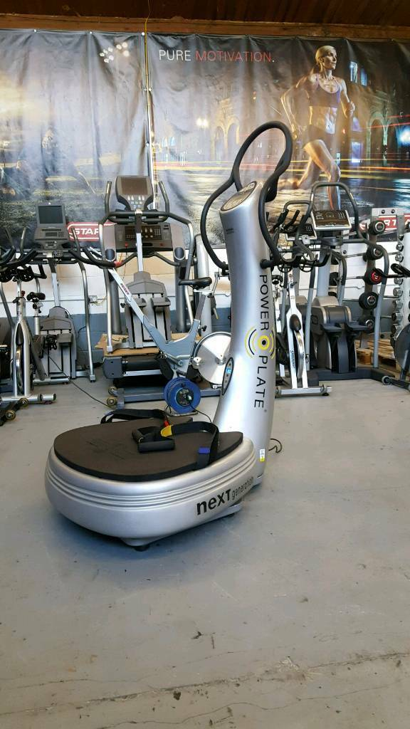 Power plate NEXT GENERATION REFURBISHED. Commercial Gym Equipment