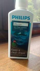 Philips jetclean shaver solution
