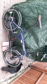 Greeway folding bike great condition very practical