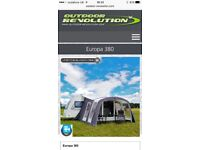 Inflatable awning brand new