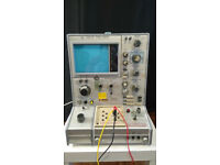 Tektronix 576 curve tracer working still calibrated