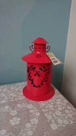 Shabby chic lantern new