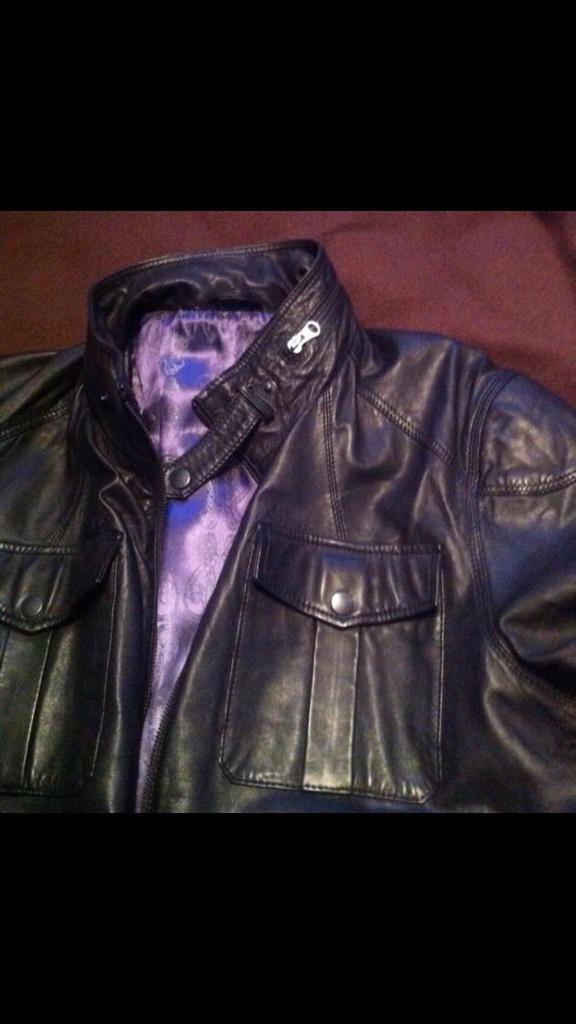 908fb02fe694e Ted Baker Leather Jacket Size 5