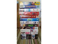 Assorted VHS films and programmes