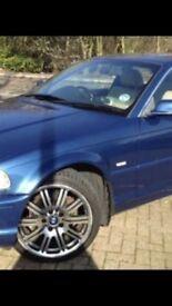BMW 323 ci 2 door coupe - blue exterior, full cream leather interior