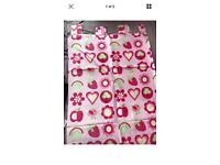 Next girls bedding and curtains