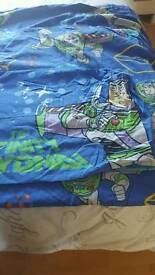 Buzz lightyear single duvet cover and pillowcase