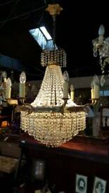 French large chandelier