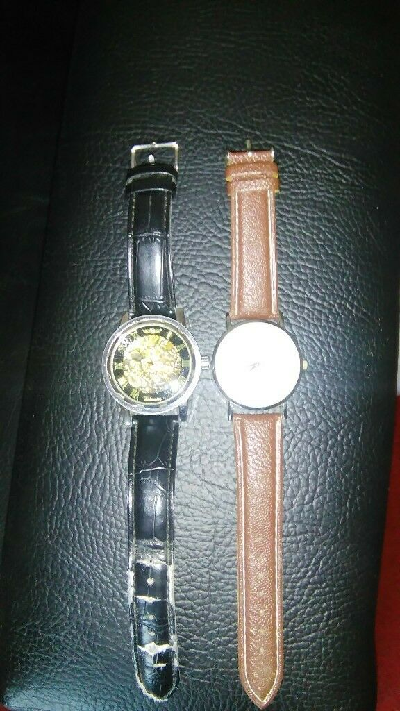 2 watches for sale zinner and yazole