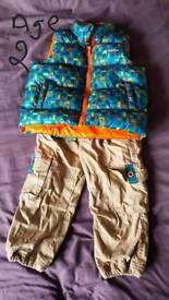 Boys winter thermal set age 2
