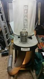 Dewalt extraction unit
