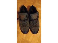 Men's/Boys Regatta Walking Shoes, brown, size 6 (39). Not worn much.