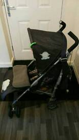 Tiny tatty teddy stroller