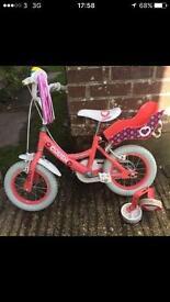 Girls Townsend crush bike