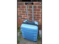 Blue Hardshell Suitcase