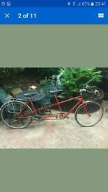 ☆☆☆☆ pashley tandem bike ☆☆☆☆