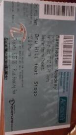 Dru Hill feat. Sisqo Tickets x2 !!