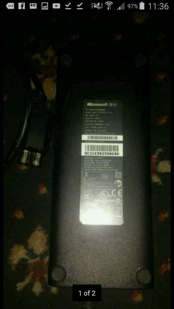 Xbox 360s power supply