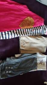 Bundle of girls clothes 8-9 yrs