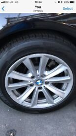 Wheel and tyres for sale 225/55/R17