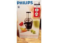 Philips HR1852 Black Viva Collection Juicer
