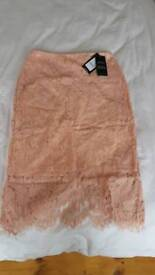 New look lace skirt size 12