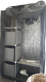Canvas / Collapsable Wardrobe