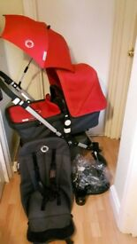 Bugaboo Cameleon 3 .Red and Grey