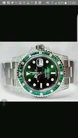 Rolex Submariner Diamond (Hulk Diamond)