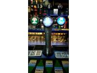 Bar mancave beer pumps cooler and equipment