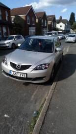 Mazda 3, 2007, 1.6cc. Lowest mileage in market