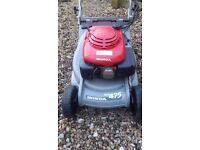 Honda hrb475 lawnmower petrol