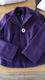 Ladies size 8-10 purple coat