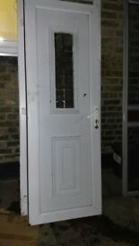 UPVC Double Glazed Multi lock Door - VGC - Can Deliver local