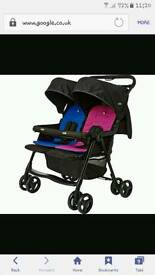 Joie aire twin double pushchair
