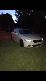 BMW 520d MOTORSPORT (wrapped light grey)