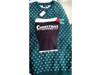 Mens Cheers Christmas Jumper size M Brand New with tags
