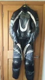 Motorbike leathers. Size 44