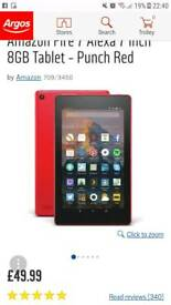 Amazon fire tablets BRAND NEW