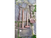 Building and gardening tools