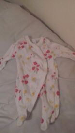 Perfect condition baby girls clothes