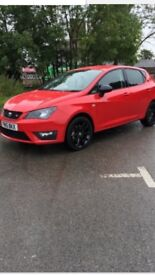 Seat Ibiza fr black edition ACT, low Miles