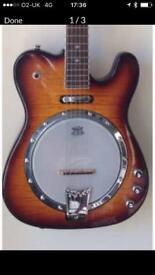 GoldTone ES Banjitar 6 string guitar banjo