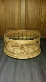 Wicker type basket
