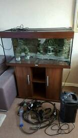 Juwel Rio 180 fish tank and stand