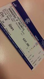 2 rangers tickets