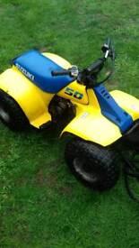 Suzuki lt50 genuine 1991 classic child's quad