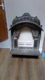 Heavy frame, used as a mandir piece