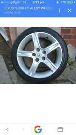 Lexus is200 alloy wheel