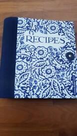 Emma Bridgewater recipe journal